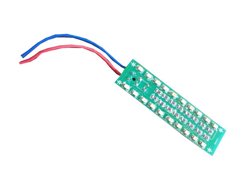 电测量仪表发光板