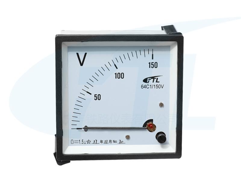 64C1蓄电池电压表