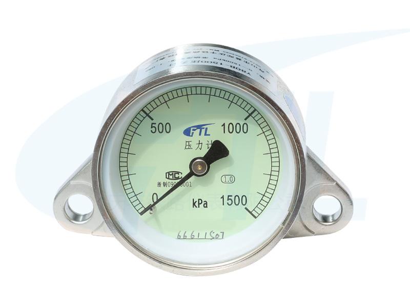 Y80B-1500压力计