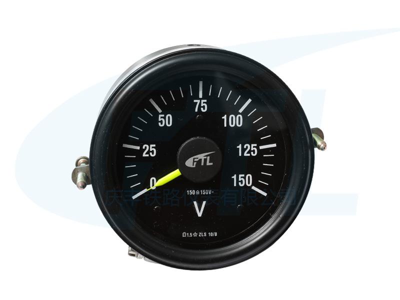 ZLS10/8蓄电池电压表(黑壳)