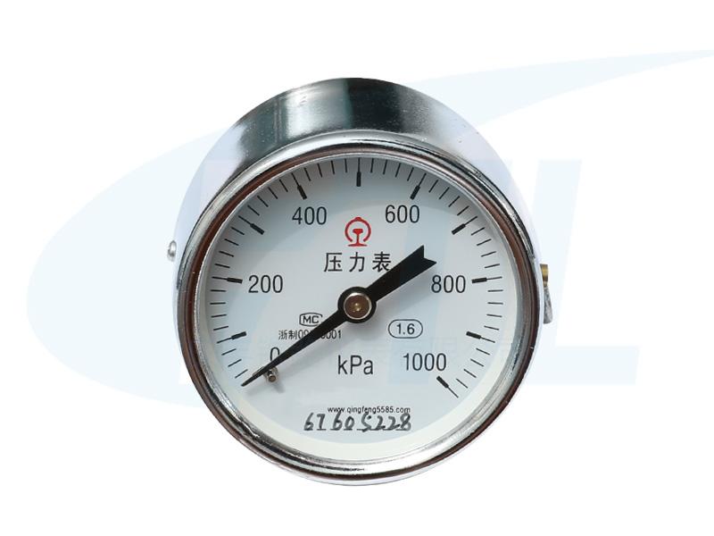Y60Z单针压力表