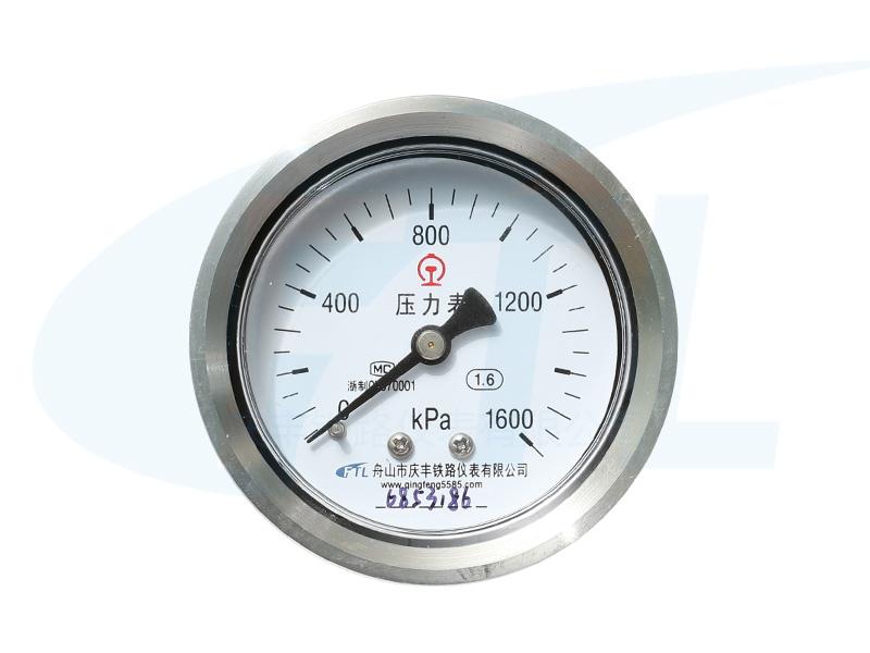 Y60Z不锈钢压力表