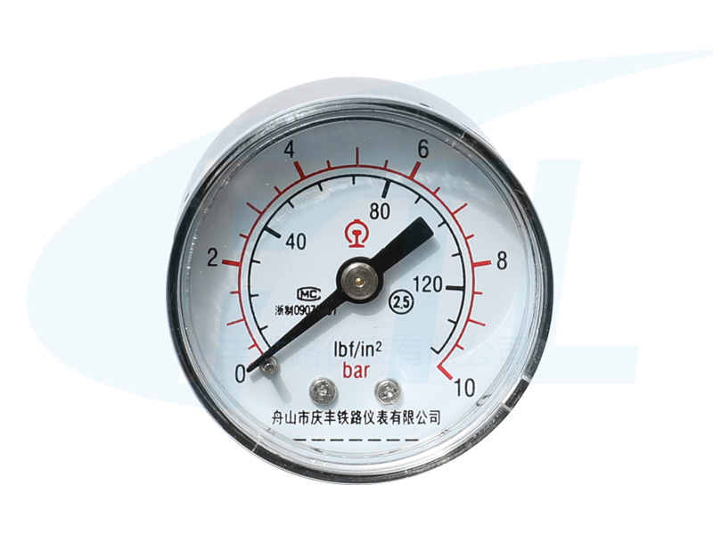 Y40Z单针压力表-双刻度