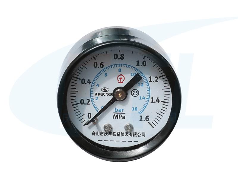 Y40Z单针压力表-外扣