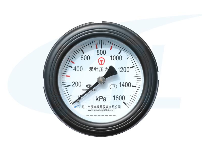 YYS-100Z双针压力表-HXN5