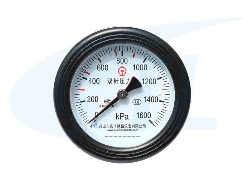 YCS100-III双针压力表