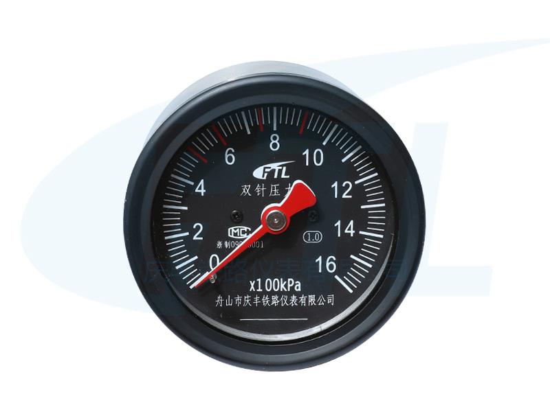YTS-80Z-1双针压力表