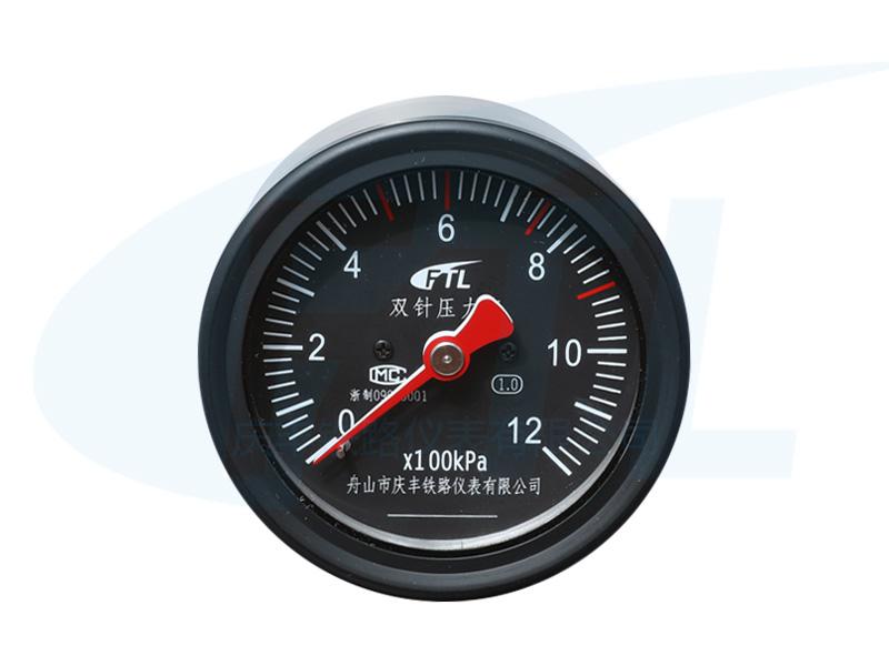 YTS-80Z双针压力表
