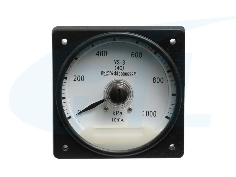 YS-3(4C)广角度压力表