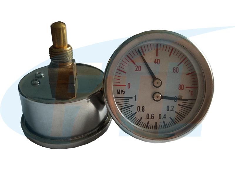 Y50Z温压一体表(不锈钢)