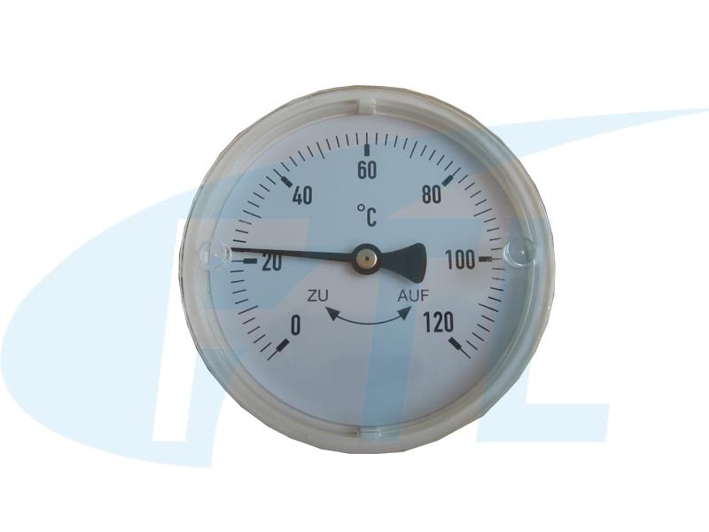 Y80双金属温度计