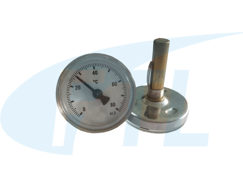 Y40双金属温度计