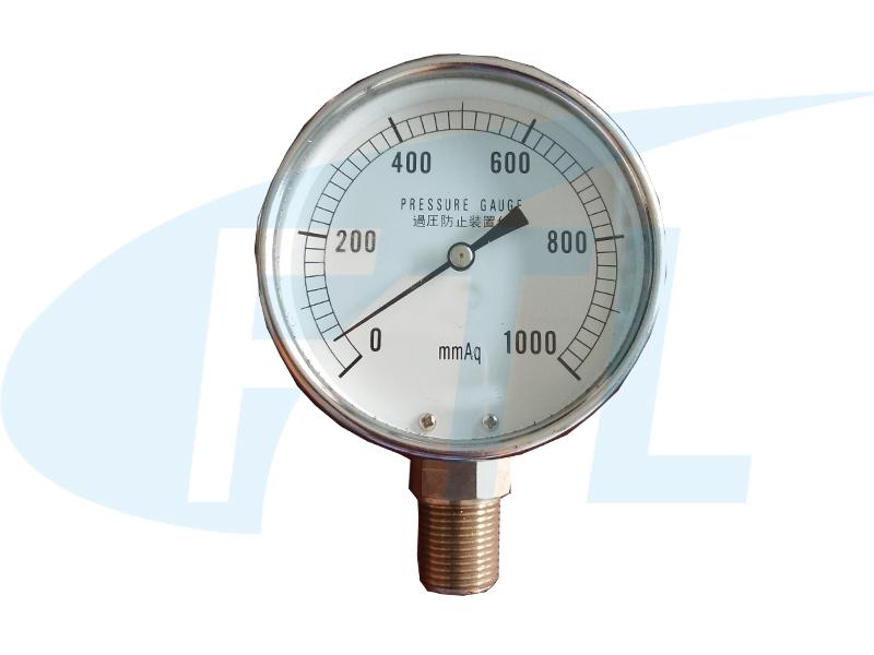 YE65膜盒压力表-正装